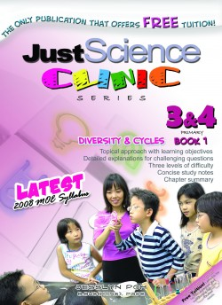 Just Science Clinic P3 & P4 Book 1