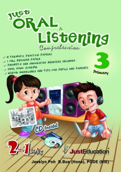 Just Oral and Listening Comprehension P3